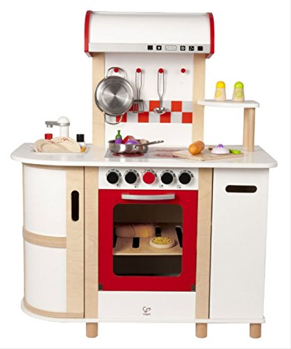 Hape Multi-function Kitchen (Play Refrigerator Wooden)