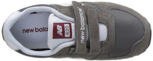New Balance KE420, Zapatillas de deporte Unisex Infantil Gris (Gyi Grey/Black)