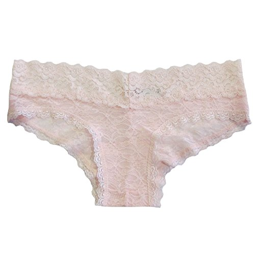 Undie Couture Lace Hipster Panties, Heavenly Pink