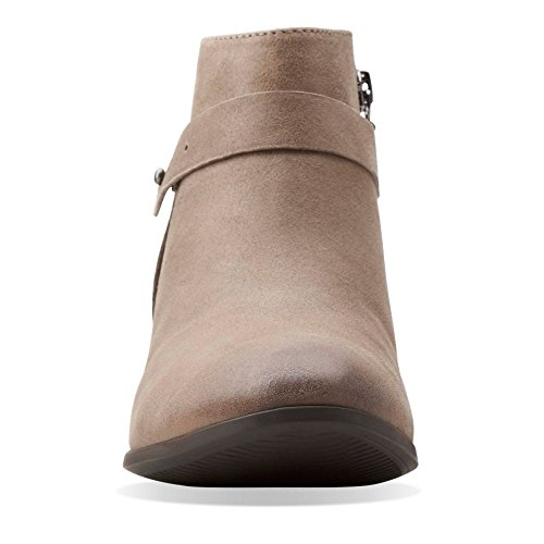 6 Taupe M Boylan Brown Dawn Suede Ankle US Bootie Women's Clarks TfwqRR