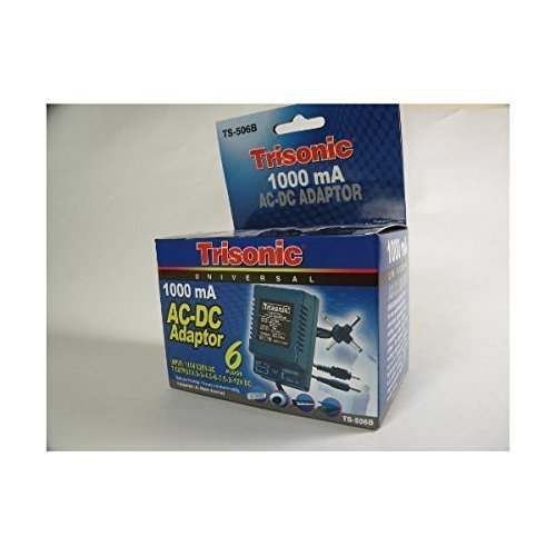 UNIVERSAL AC DC ADAPTER ADAPTOR SONY 1000mA 1.5 to 12 V