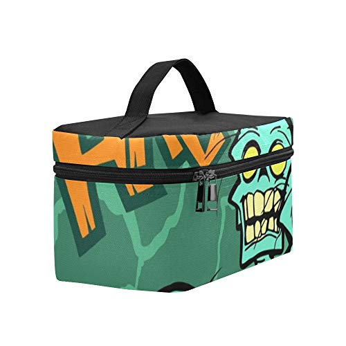 Colorful Halloween Cartoon Greeting Card Scary Lunch Box