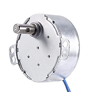 Turntable Synchronous Synchron Motor 50/60Hz AC 100~127V 4W 5-6RPM/MIN CCW/CW For Hand-Made, School Project, Model