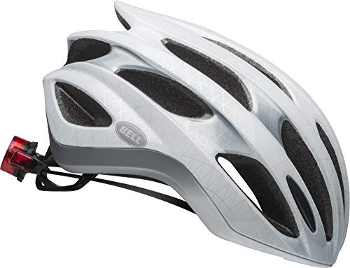 Bell Formula LED MIPS Adult Bike Helmet - Slice Matte/Gloss White/Silver - Medium (55-59 cm)