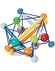 Manhattan Toy Artful Rattle and Teether Grasping Activity Toy