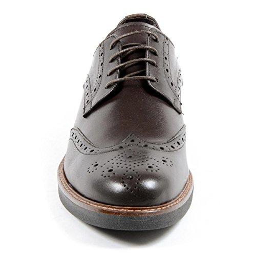 Andrew Charles Mens Brogue Chaussure Brun Iggy