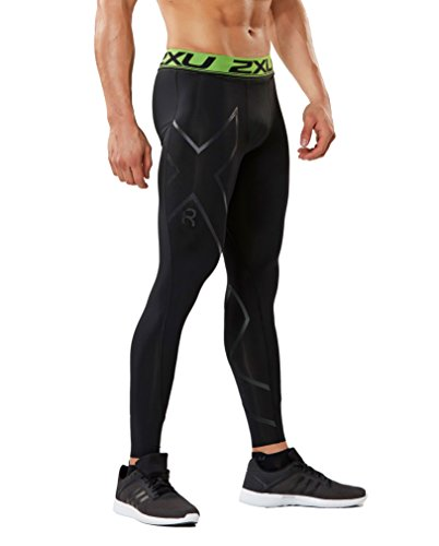 2XU Men's Refresh Recovery Compression Tights, Black/Nero, Medium by 2XU (Image #4)