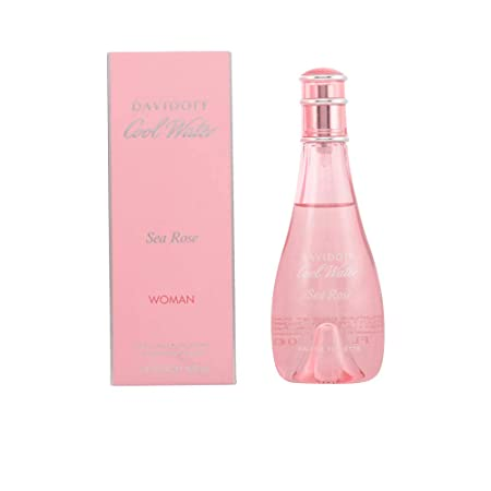 Zino Davidoff Cool Water Sea Rose EDT Spray for Women, 3.4 Ounce