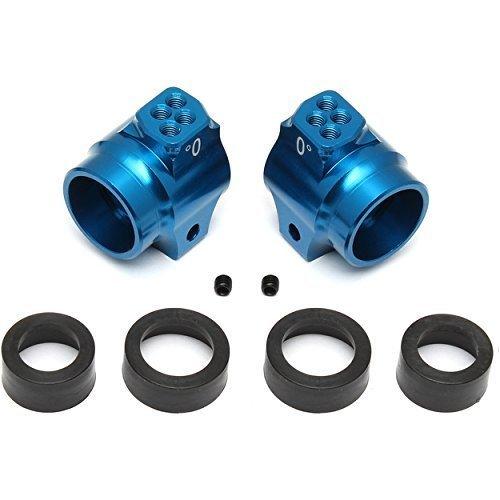 Associated Rear Hubs - B5/B5M Blue Alum