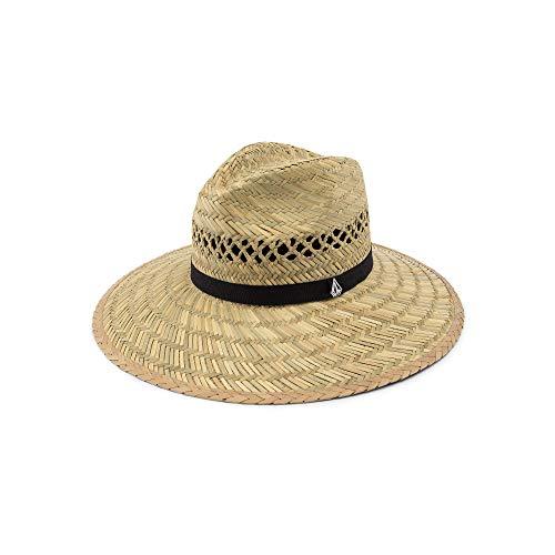 Volcom Junior's Women's Dazey Straw Lifeguard Sun Hat, Natural One Size Fits All ()