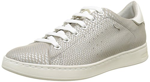 argento argento Jaysen basse Sneakers A D donna Geox w40qTpxC