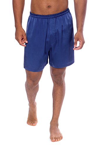 TexereSilk Men's Boxer - Medium - Royal Blue
