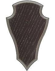 Akah 5unidades Diseño de Corzo gehörnb rettchen roble 19x 12cm oscuro o claro marrón Punta trofeo carteles