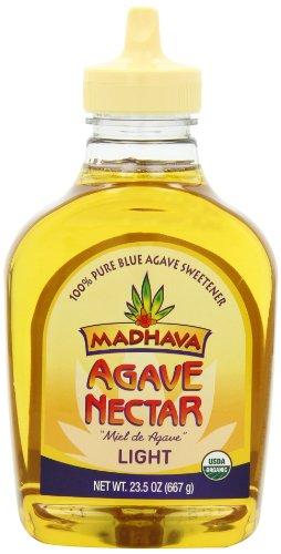 Mâdhava organique nectar d'agave - la lumière, 23,5 onces Bouteilles (pack de 6)