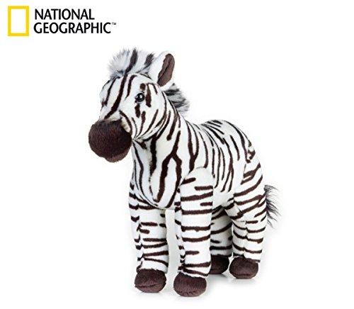 (National Geographic Zebra Plush - Medium Size)