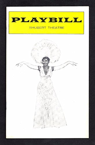 """Pearl Bailey """"HELLO DOLLY"""" Jerry Herman / Billy Daniels 1975 Tryout Playbill"""