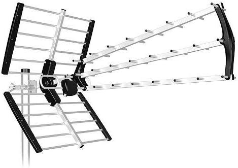 Antena TDT LTE Alta Ganancia 18 dB BKM (Naranja): Amazon.es ...
