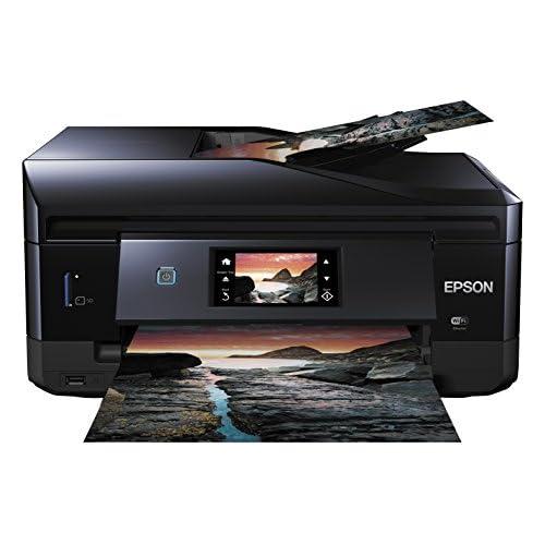 chollos oferta descuentos barato Epson Expression Photo XP 860 Impresora multifunción de Tinta impresión WiFi y móvil Color Negro Ya Disponible en Amazon Dash Replenishment
