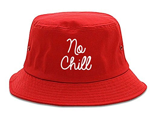 No Chill Funny Vibes Chest Bucket Hat - Hat Chill No