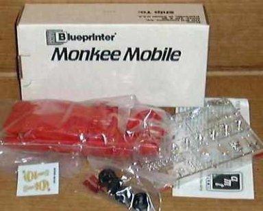 1989 Blueprinter Monkee Mobile Model Kit