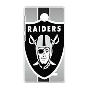 New Style Custom Picture oakland raiders Phone Case for Nokia Lumia X