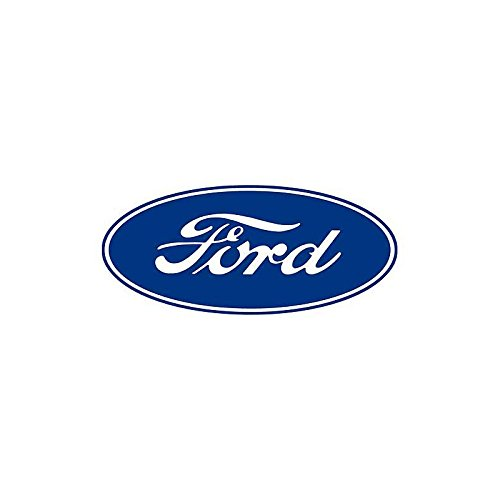 white ford emblem decal - 9