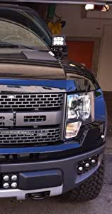 M&R Ford F150 Hood Mount LED Light Kit