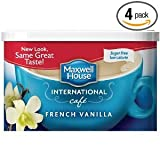 Maxwell International Cafe Cafe-Style Sugar Free French Vanilla Cafe Beverage Mix 4 OZ (Pack of 16)