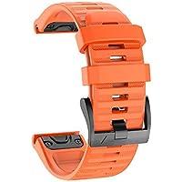 Isabake Horlogeband voor Garmin Fenix 6/6 Pro, QuickFit 22mm Band Compatibel met Fenix 6/6 Pro Fenix 5/5 Plus…