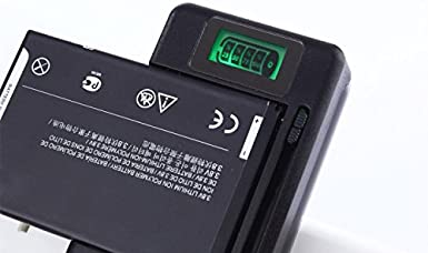 Huawei Mega Edge Wider Adjustable Dock etc for Samsung Galaxy S3 S4 S5 Note 2 3 4 HTC LG Lrker Universal USB Wall Travel Spare Battery Charger with Green LCD Indicator