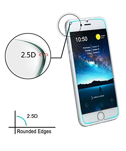 iPhone 7 Plus Screen Protector,Yootech [2-Pack] iPhone 7 Plus Tempered Glass Screen Protector Only for Apple iPhone 7 Plus [Not for iPhone 6 plus/6S Plus]