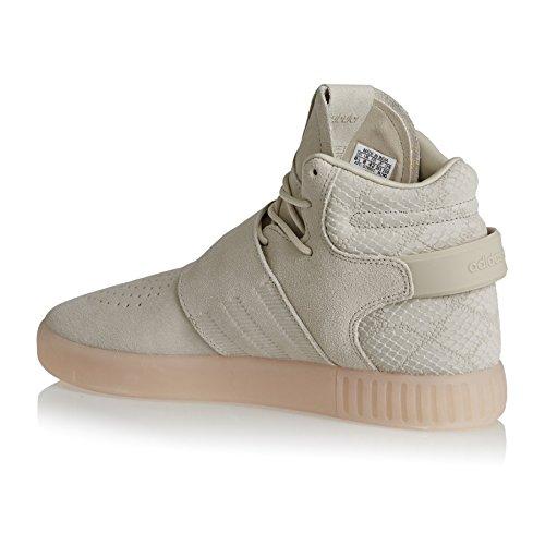 adidas Herren Schuhe/Sneaker Tubular Invader Strap Braun 46