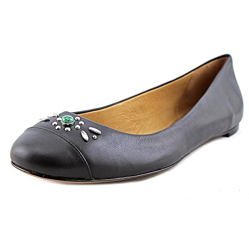 Coach Womens Farrell Closed Toe Loafers, Black, Size 10.0 Rrlg