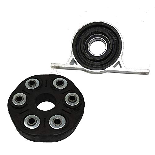 Driveshaft Flex Joint Disc Center Support Bearing Kit for BMW E65 E66 745i 745Li 2002 2003 2004 - Shaft Disc Drive Flex