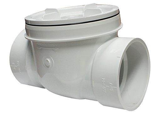 Canplas  223284W PVC Backwater Valve, 4-Inch by Canplas (CANPE)