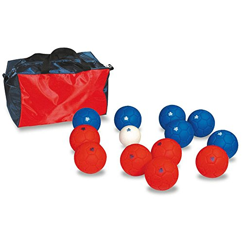 Kids Outdoor Activity Family Garden Games Rubber Feel Target Ball Soft Boccia Set by Sportsgear US