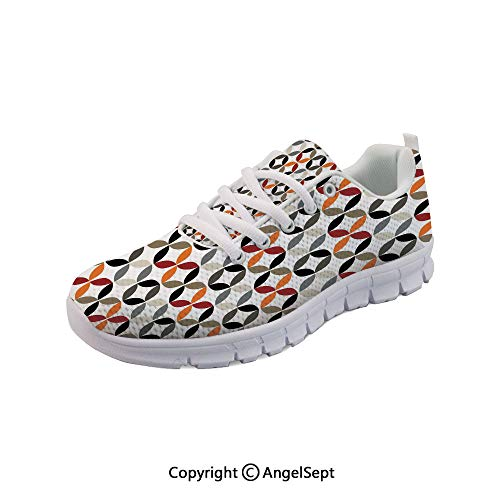 Series Hrx - Athletic Running Shoes Ring Forms Artful Series Boho Lightweight Sneakers