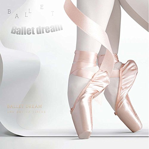 EU Pink Rosa Pink DREAMOWL Donna 35 Ballerine Rosa SzX00x