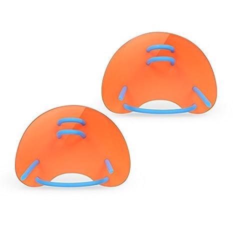 Lixada Swimming Hand Paddles Fins Adjustable Swim Training Hand Paddles for Adults/Children A-xixada 1