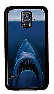 Samsung Galaxy S5 popular cover Cool Funny Shark PC Black Custom Samsung Galaxy S5 Case Cover