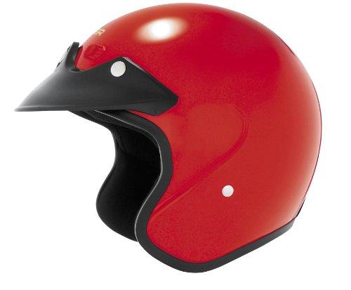 Cyber Helmets U-6 Solid Helmet , Size: Lg, Distinct Name: Red, Helmet Category: Street, Primary Color: Red, Helmet Type: ()