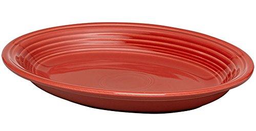 Fiesta Scarlet 458 13-3/4-Inch Oval Platter