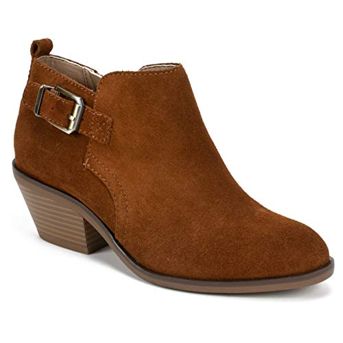 Womens Boot Mountain Ankle - WHITE MOUNTAIN Women's Santiago Ankle Boot, Whiskey/Suede, 8 M US