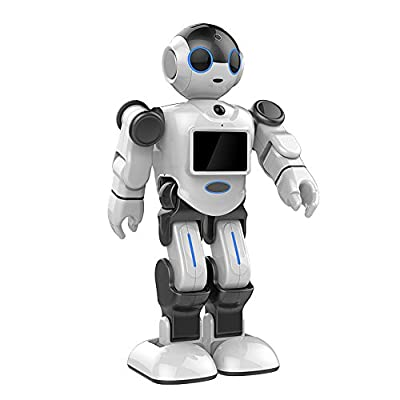 RC Robot, HoLead Pbot HL-E Programmable Voice Control Intelligent Humanoid Robot Wifi APP RC Robot Senior RC TOYS with Entertainment/Education/Video Chat/Security Monitoring