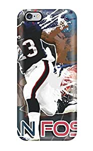 Durable Arian Foster Back Case/cover For Iphone 6 Plus(3D PC Soft Case)