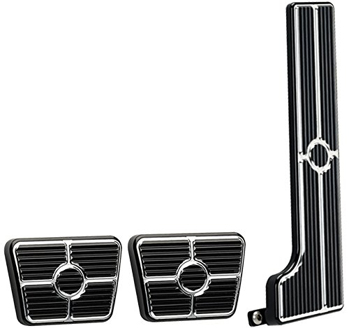 66 Clutch Rod - NEW BILLET SPECIALTIES BLACK ANODIZED 58-67 CHEVY PEDAL KIT FOR MANUAL TRANSMISSIONS INCLUDING GAS PEDAL ASSEMBLY, CLUTCH PAD, AND BRAKE PAD, 63-67 CHEVY II, CHEVELLE, 58-64 BEL AIR, BISCAYNE, IMPALA