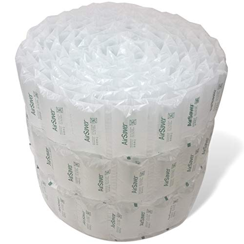 4x8 Air Pillows Green Eco Friendly Void Fill Cushioning for Shipping and Packaging by Airsaver Pack
