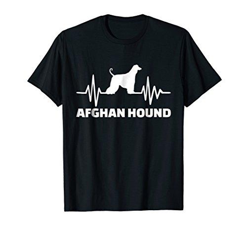 Heartbeat Afghan Hound T-Shirt ()