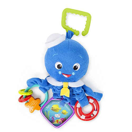 Baby Einstein Activity Arms Toy, Octopus (Best Baby Carrier For 3 Month Old)