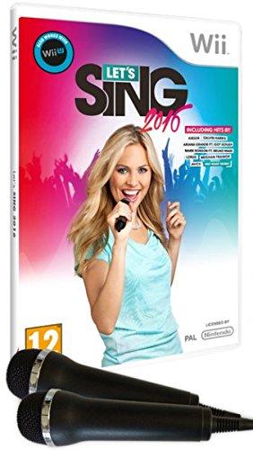 Let's Sing 2016 + 2 Mics (Wii)